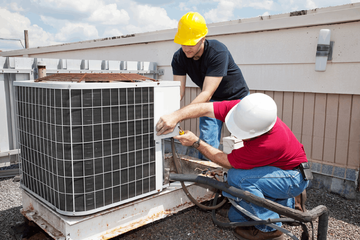 installing of air conditioner